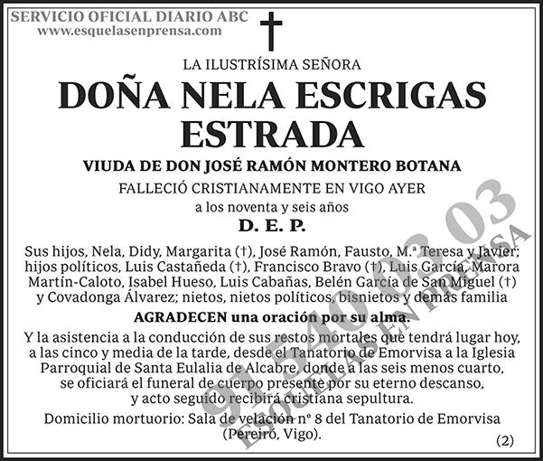 Nela Escrigas Estrada